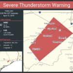 Severe thunderstorm warning in effect until 3:30 p.m.