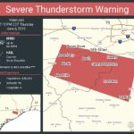 Severe Thunderstorm Warning in Effect Until 7:15 p.m. Today, June 6