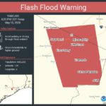 Flash Flood Warning in Effect Until 6:30 p.m. Today, May 15; Flash Flood Watch Continues Until 1 p.m. Tomorrow