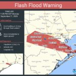Beta Stalls Over Southeast Texas; More Rain Still Possible