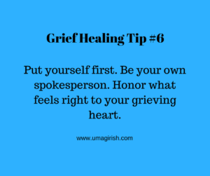 honor your grieving heart