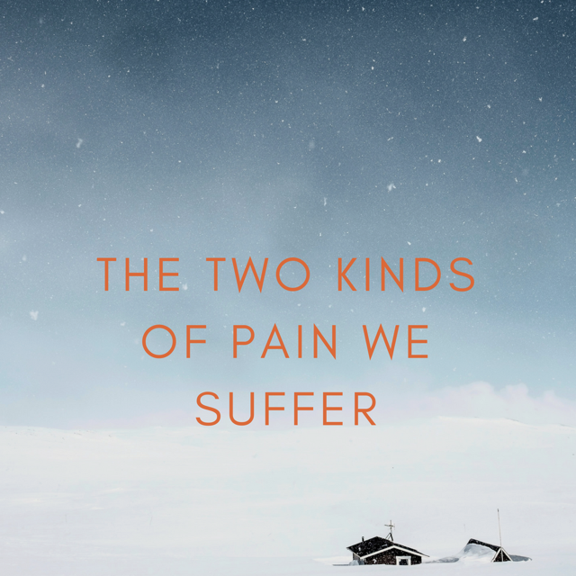 The Two Kinds of Pain We Suffer