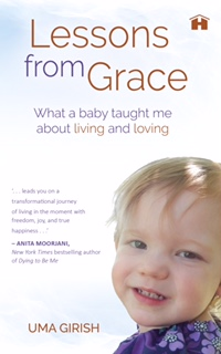 the cover image of my new Hay House book which has a smiling baby's face