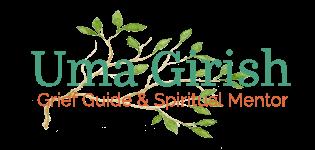 logo grief guide adn spiritual mentor - outlined