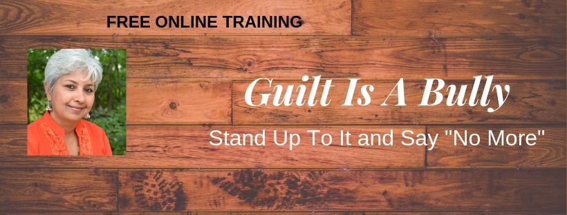 Guilt is a Bully