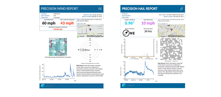 Understory Precision Wind and Precision Hail Report