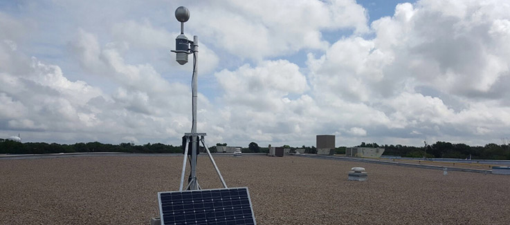 an rti weather station in dallas tx
