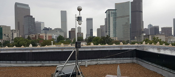 An RTi Weather Station in Denver, CO helps area businesses with insurance claims
