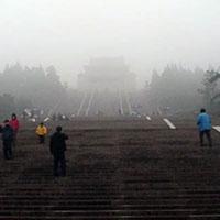 A lovely day at the Dr. Sun Yat Sen Mausoleum.