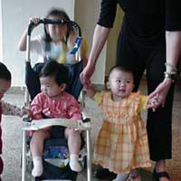 Three girls from Jiangsu orphanage moving on to bigger and better things.