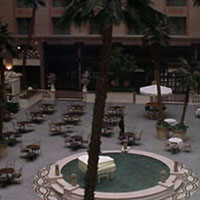 Our hotel's interior courtyard. You should see the one outside.