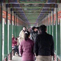 Summer Palace's aptly named Long Hall.