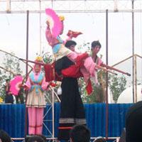 World class Chinese acrobats.