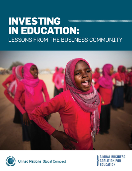 Investing in Education: Lessons from the Business Community