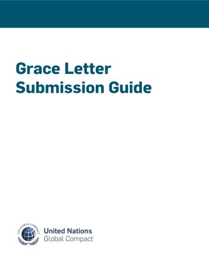 Grace Letter Submission Guide | UN Global Compact