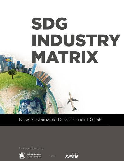 SDG Industry Matrix | UN Global Compact
