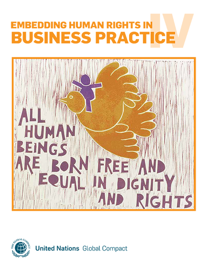 Embedding Human Rights in Business Practice IV
