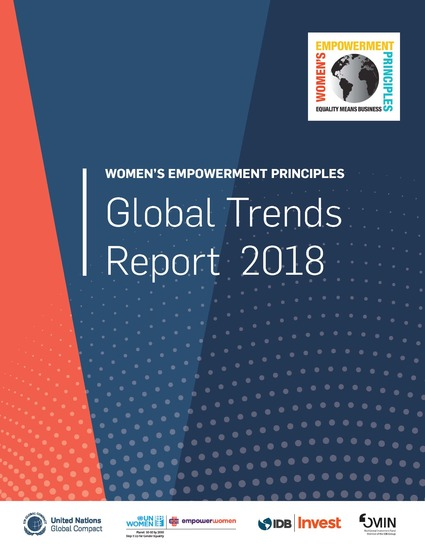 Women's Empowerment Principles Global Trends Report 2018
