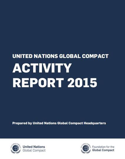 UN Global Compact Activity Report Series