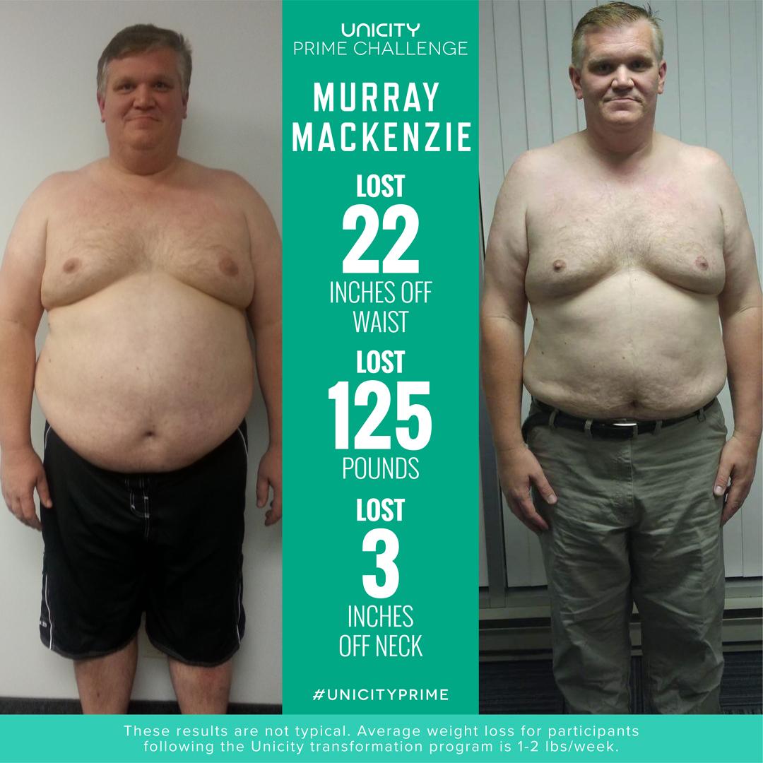 Unicity Transformation Prime Challenge Murray Mackenzie