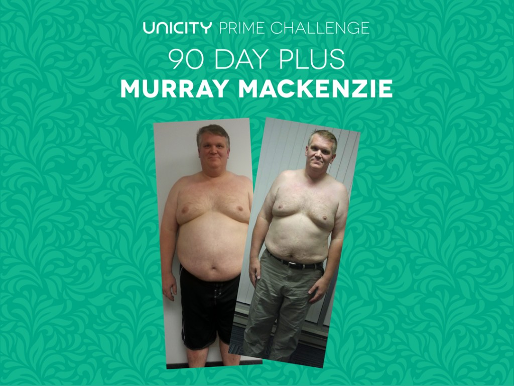 Unicity Transformation Prime Challenge Murray Mackenzie