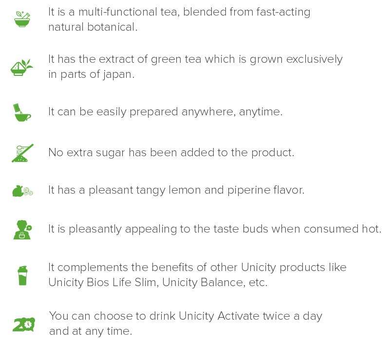 About Unicity Activate