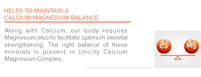 Helps to Maintain a calcium Magnesium Balance