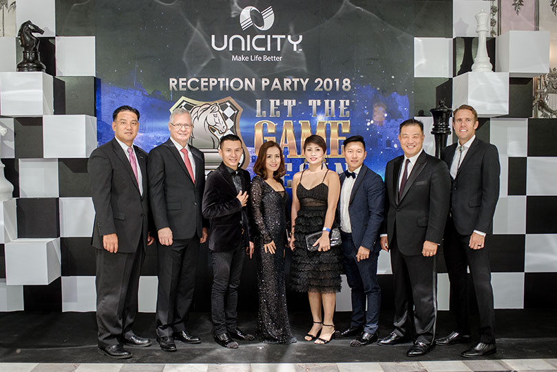Let the game begin Unicity Reception Party 2018
