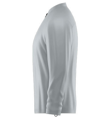 Batting Cage Jacket Long Sleeve Blank Template