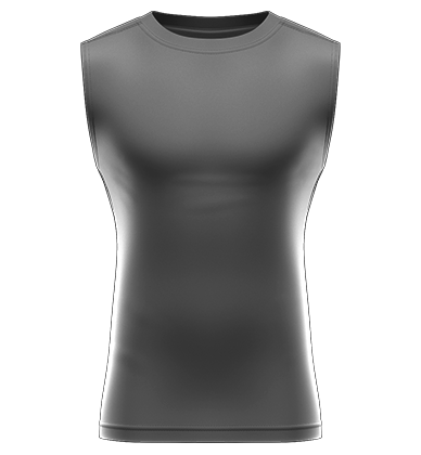 36414c34f4a Compression Sleeveless Blank Template ...