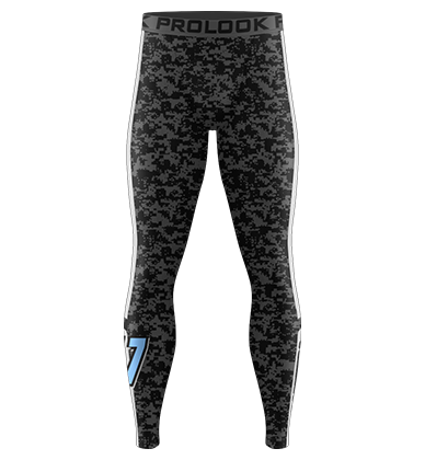 Panthers Full Length Compression Pant