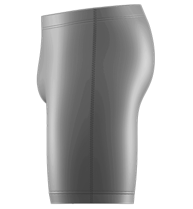 Compression Shorts Blank Template