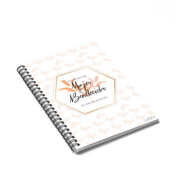 Mujer Bendecida Spiral Notebook – Ruled Line
