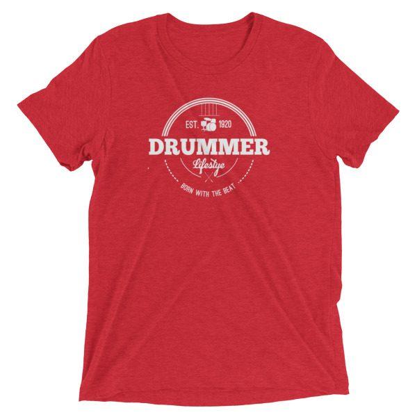 Drummer Badge Short sleeve t-shirt