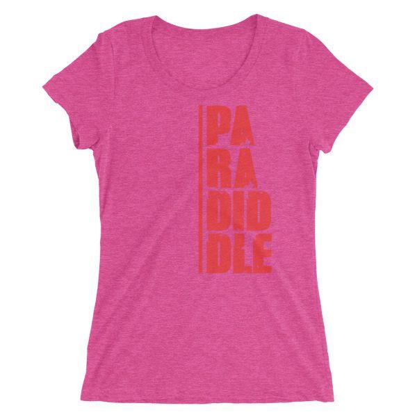 Ladies' Paradiddle short sleeve t-shirt