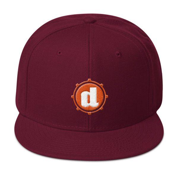 Snare Brand Snapback Hat