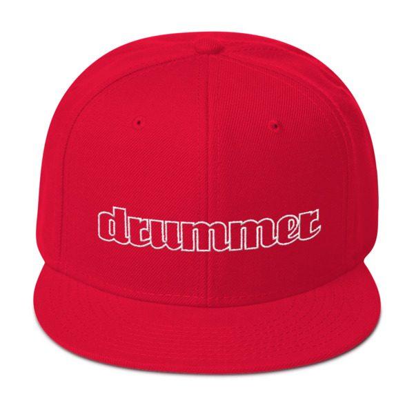 Drummer Snapback Hat