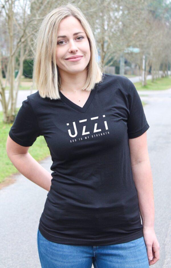 Unisex UZZI V-Neck T-Shirt