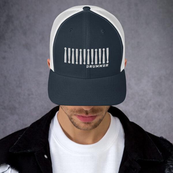 Trucker Drummer Cap