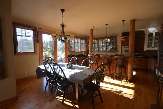 Dining Area is open to kitchen and living roomm
