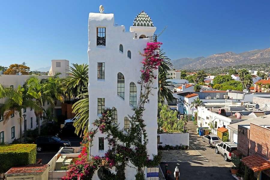 Ablitt House - Art Meets Architecture in Downtown Santa Barbara