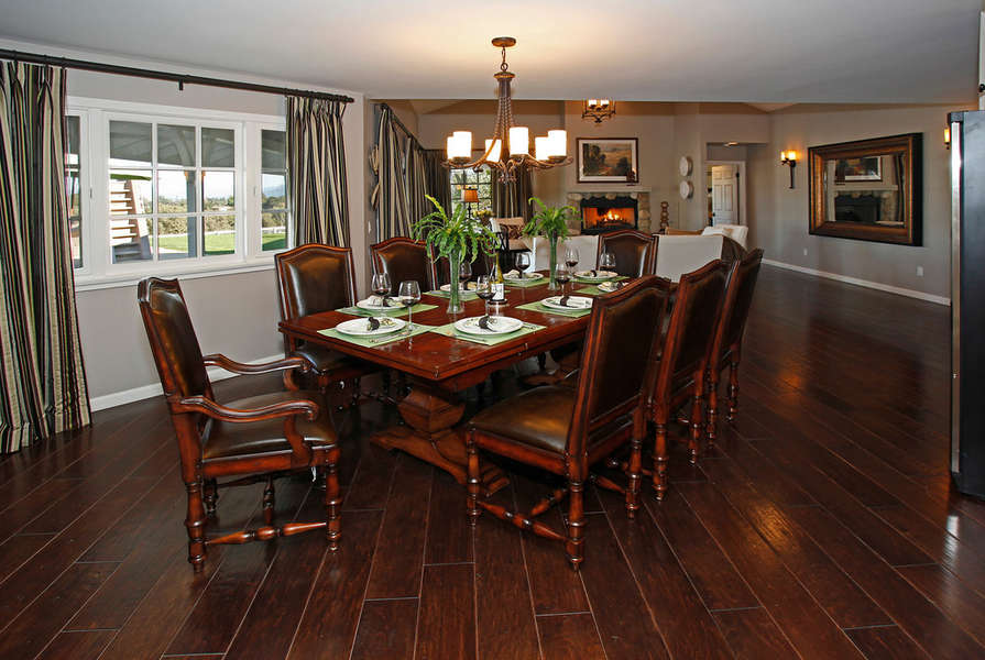 Formal Dining Room has full size wine cooler