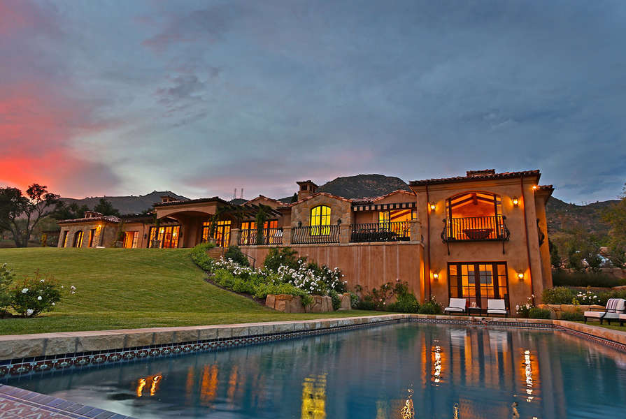 Expect amazing sunsets from Villa Bella