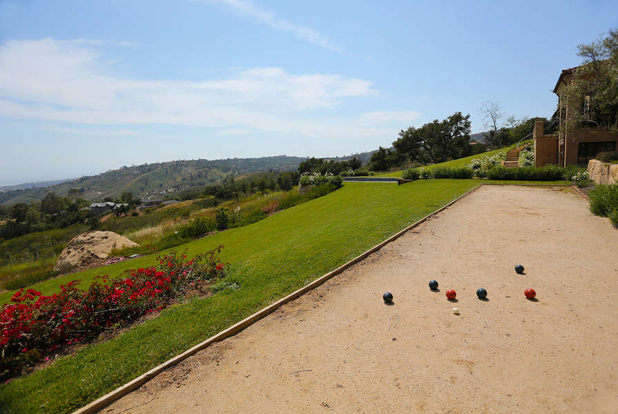 Bocce Ball court, just for fun!
