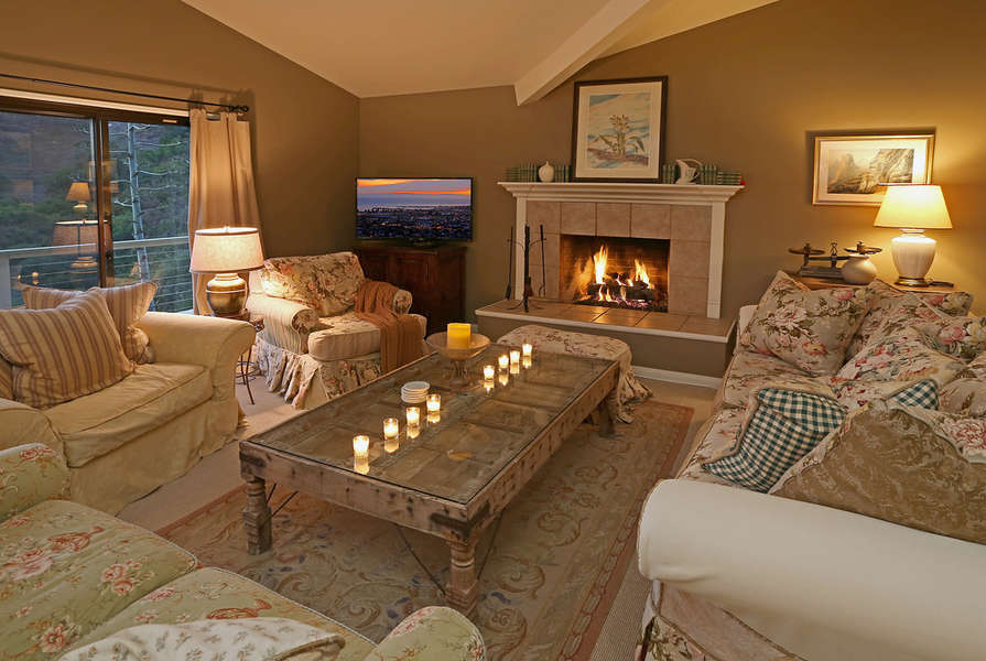 Romantic evenings in the Formal Living Room