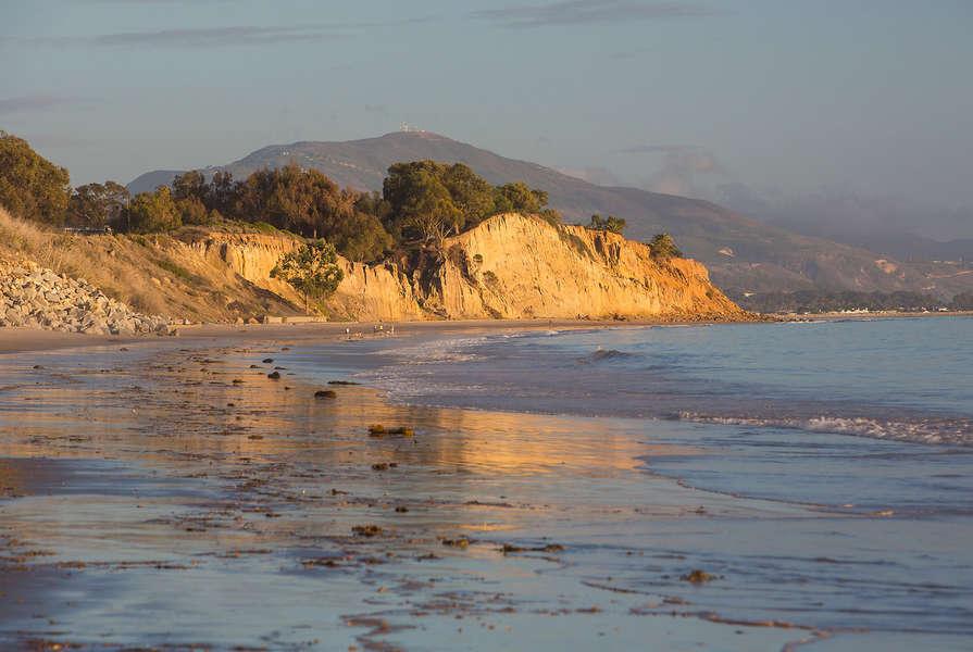 A secluded beach awaits!