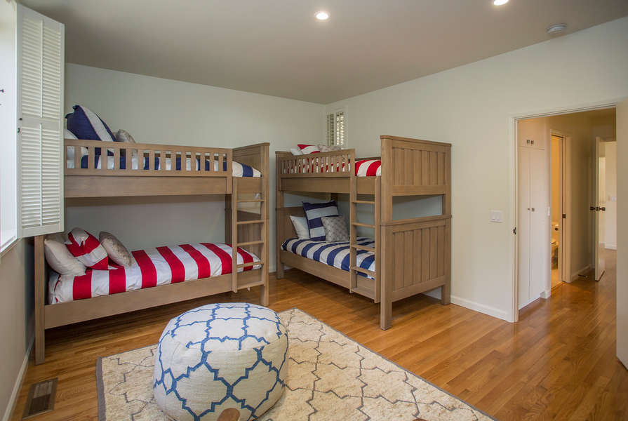 Bedroom #3 w/2 sets of twin bunk beds