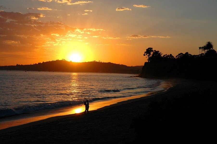 West Coast sunsets are amazing