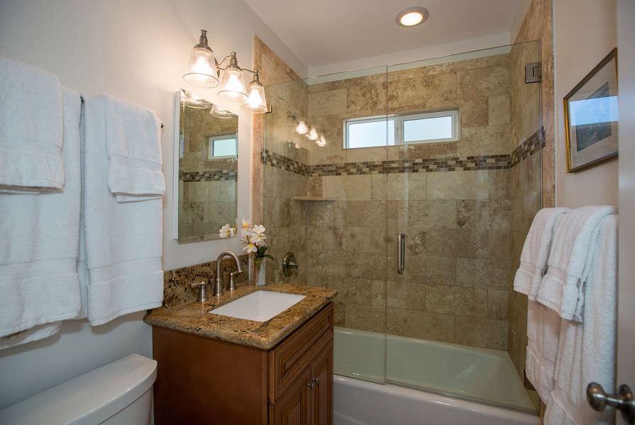 Hall Bathroom outside Master Bedroom