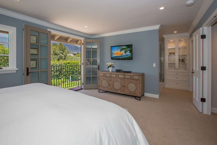Mountain views from Master Bedroom